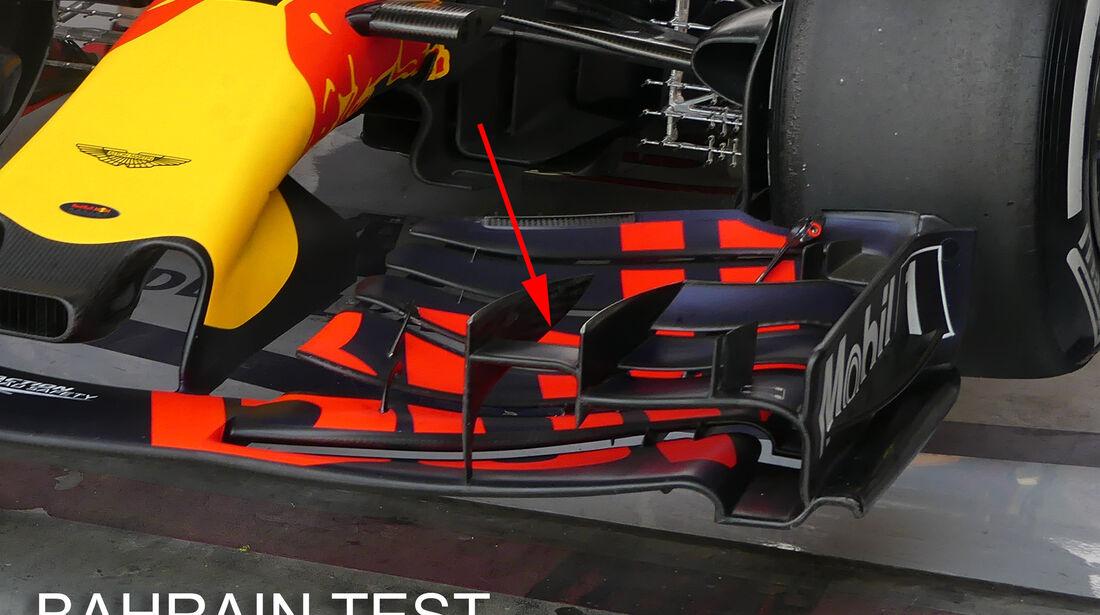 Red Bull - GP Bahrain - Technik - Formel 1 - 2017