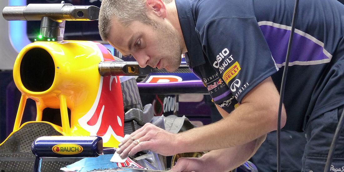 Red Bull - GP China 2014 - Technik