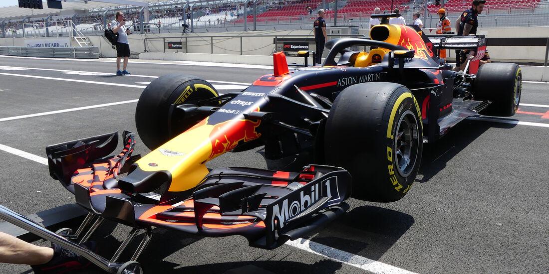Red Bull - GP Frankreich - Paul Ricard - Formel 1 - 21. Juni 2018
