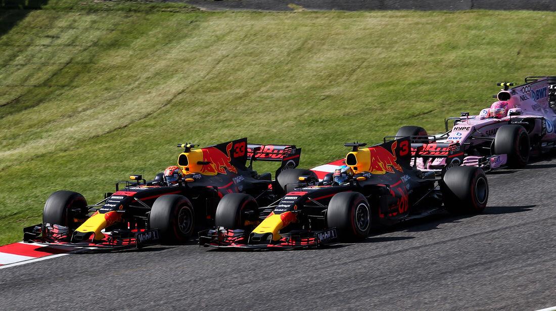Red Bull - GP Italien 2017