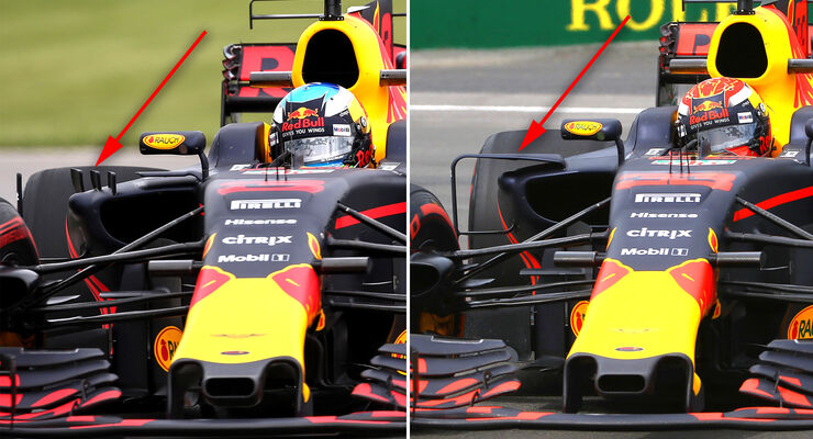 Red Bull - GP Kanada - Formel 1 - Technik - 2017