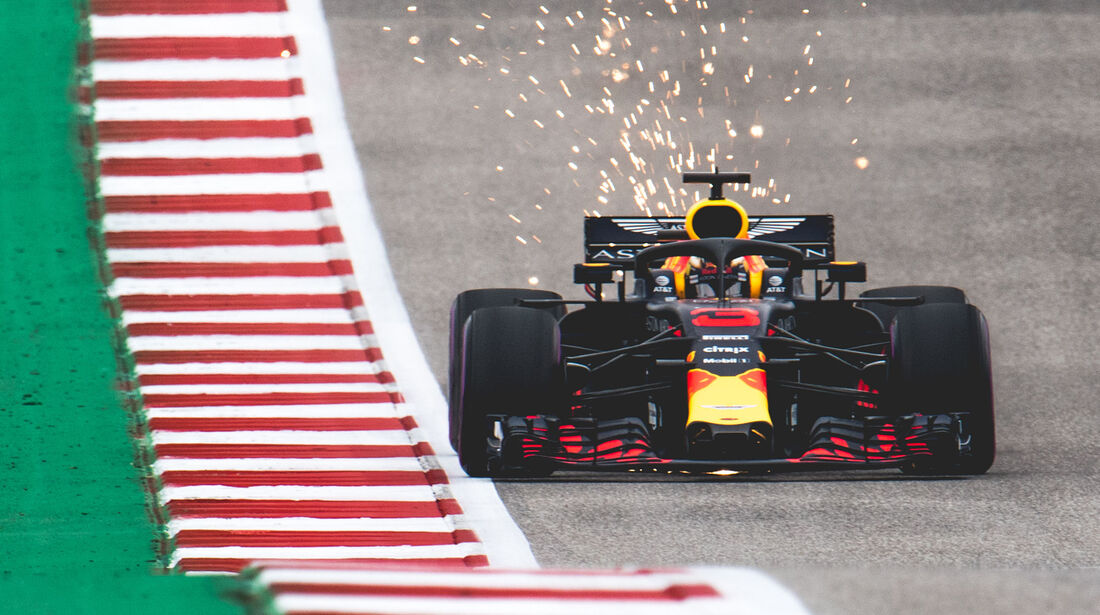 Red Bull - GP USA 2018