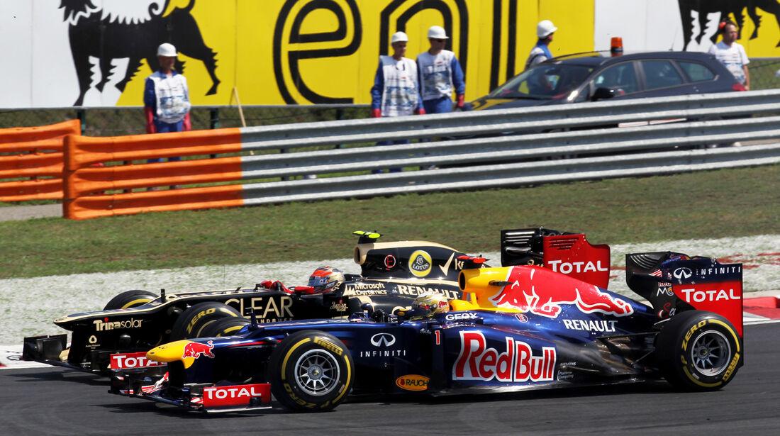 Red Bull GP Ungarn 2012