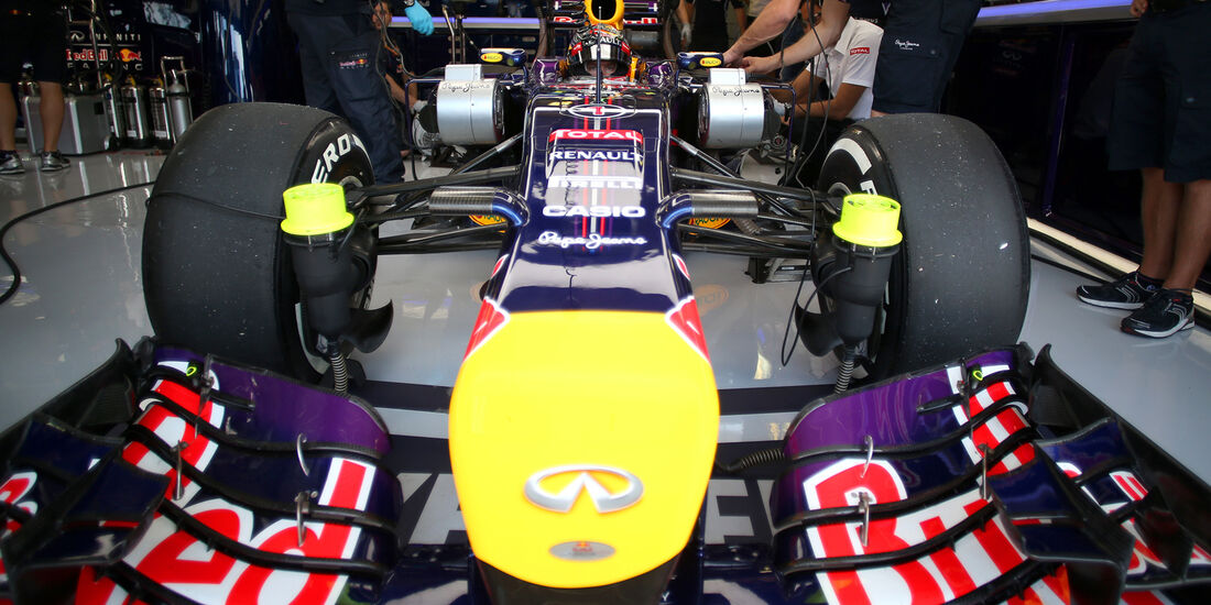 Red Bull - GP Ungarn 2014