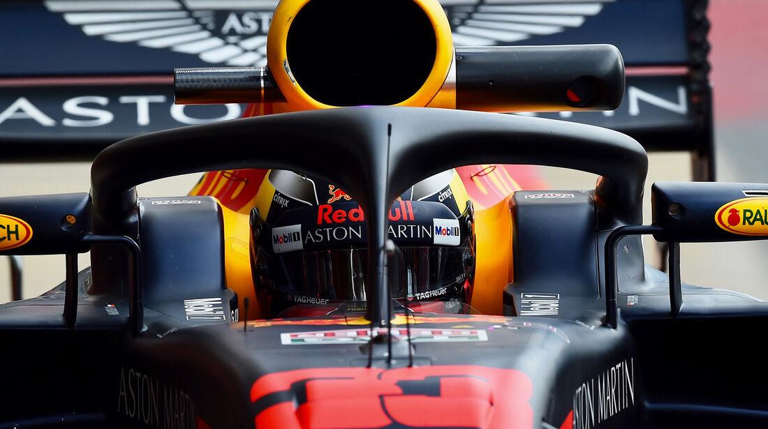Red Bull - Halo - F1-Test - Barcelona - 2018