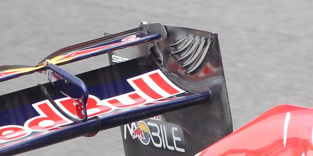 Red Bull Heckflügel Doppel DRS GP Korea 2012
