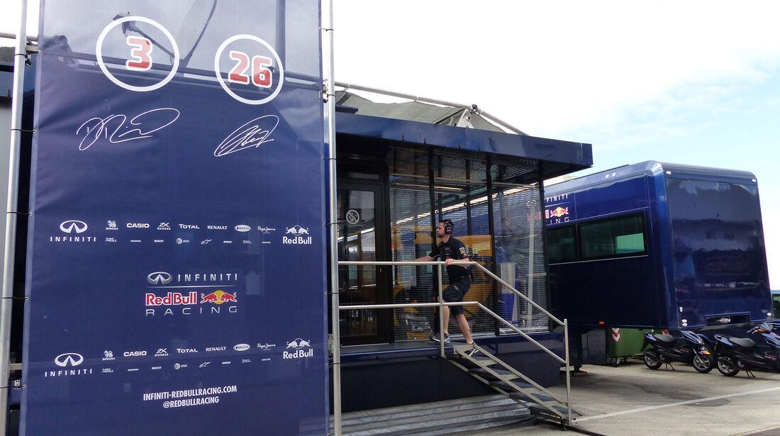 Red Bull - Impressionen - Jerez - Formel 1-Test - 31. Januar 2015