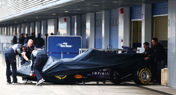Red Bull - Jerez-Test - 31. Januar 2014