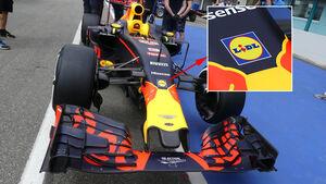 Red Bull - LIDL-Werbung - GP Deutschland 2016