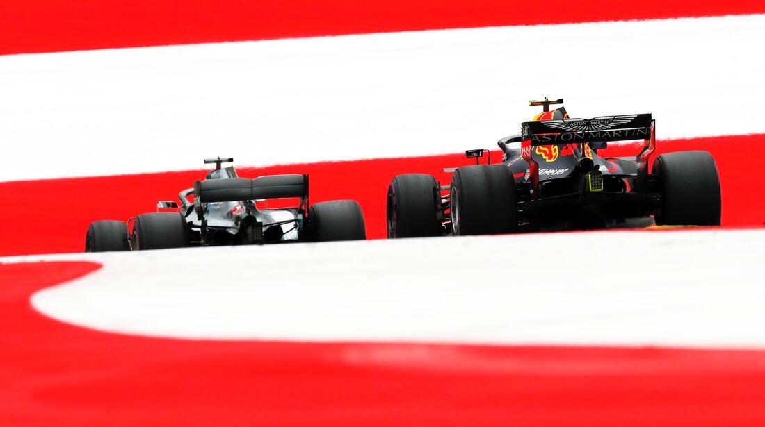 Red Bull - Mercedes - Formel 1 - GP Österreich - 29. Juni 2018