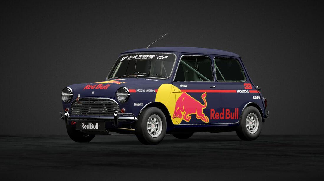Red Bull - Mini in F1-Designs - 2019