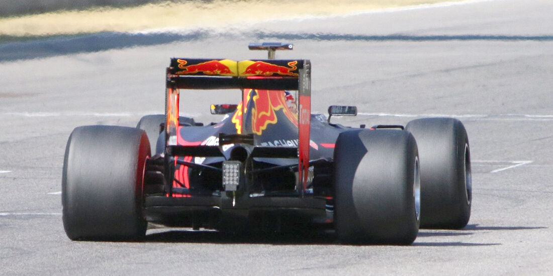 Red Bull - Pirelli 2017 Reifen Test - Mugello 2016