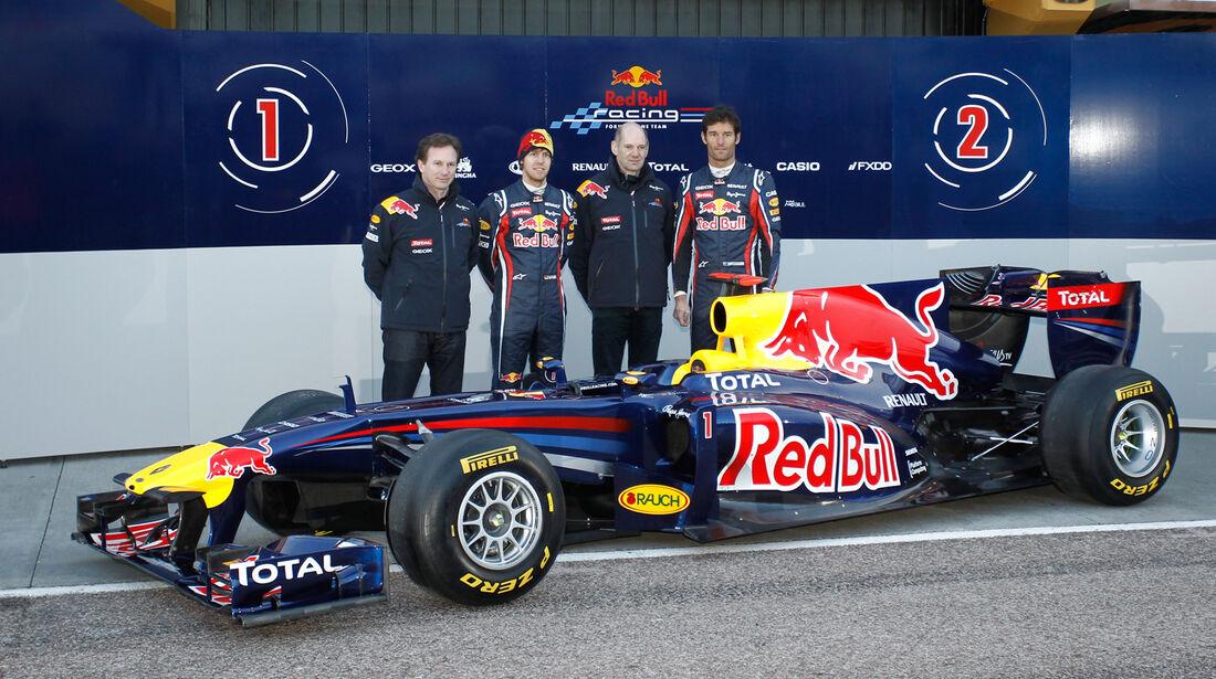Red Bull Präsentation Valencia 2011