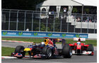 Red Bull RB6 - Ferrari F10 - Vettel - Alonso - F1 2010