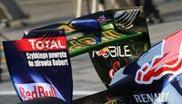 Red Bull RB7 Heckflügel Test 2011