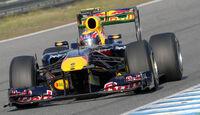 Red Bull RB7 Webber Test 2011