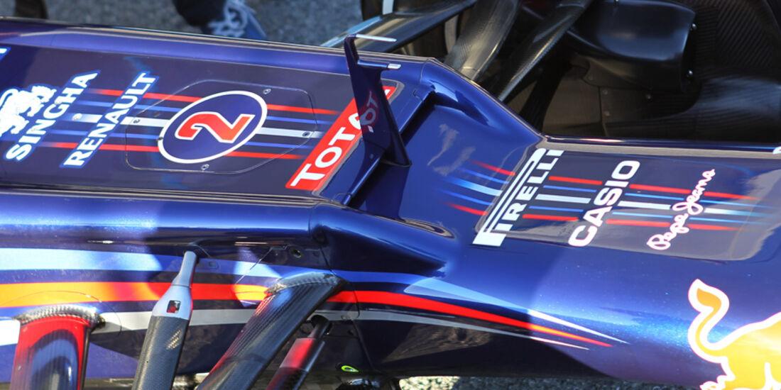 Red Bull RB8 Formel 1 Nase Jerez 2012