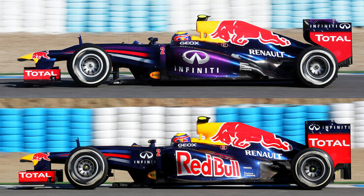 Red Bull RB9 Jerez Test F1 2013