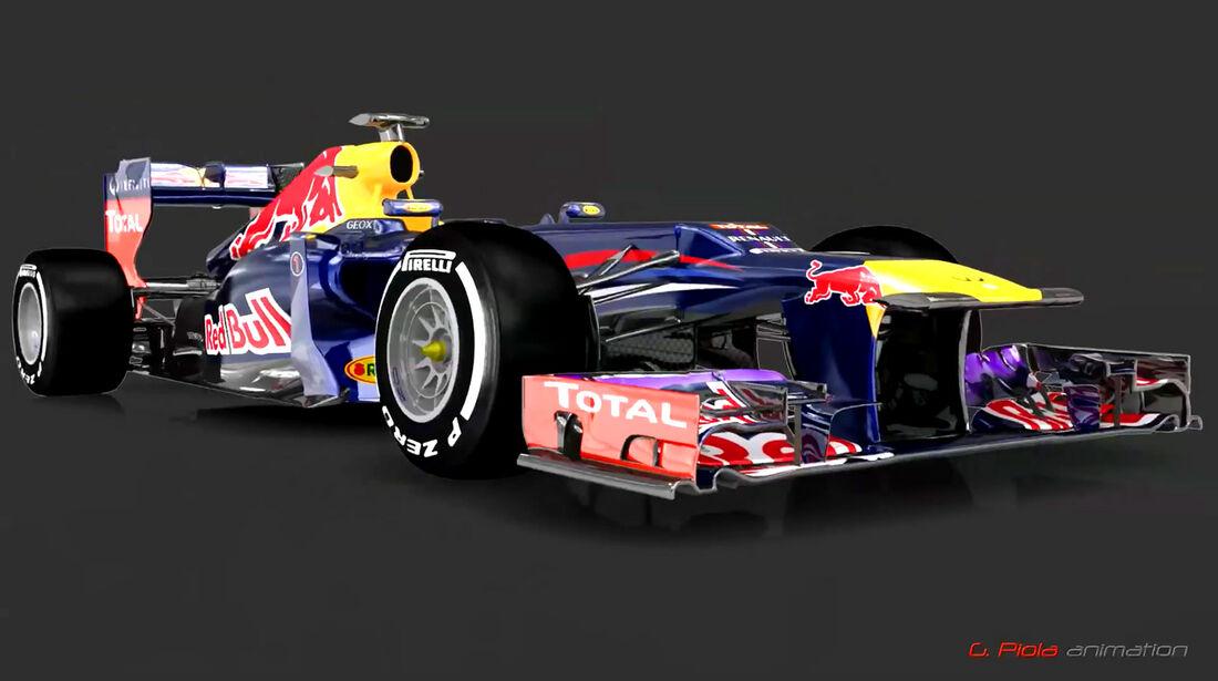 Red Bull RB9 Piola Video Screenshots 2013