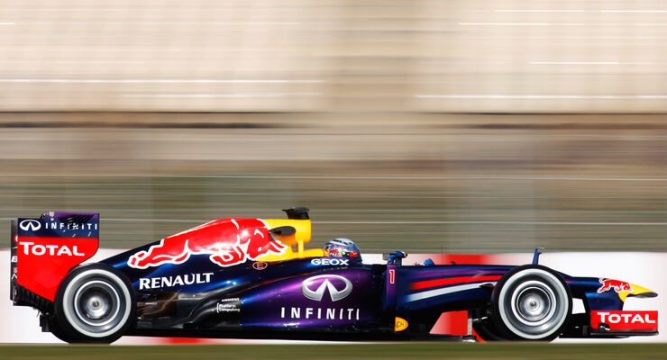 Red Bull RB9 Test 2013