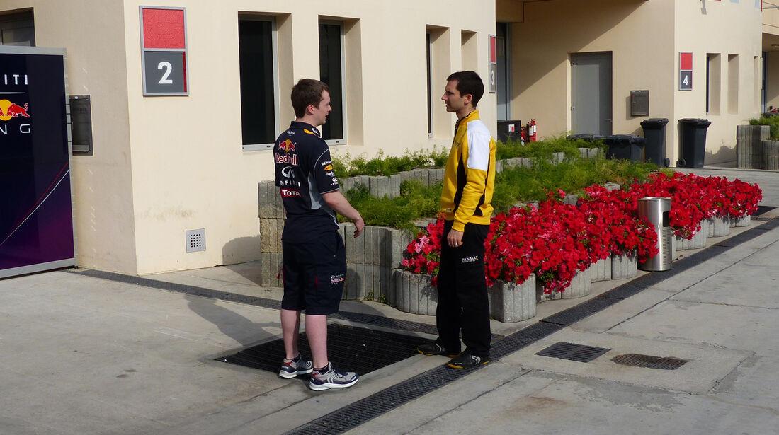 Red Bull - Renault - Formel 1 - Test - Bahrain - 27. Februar 2014