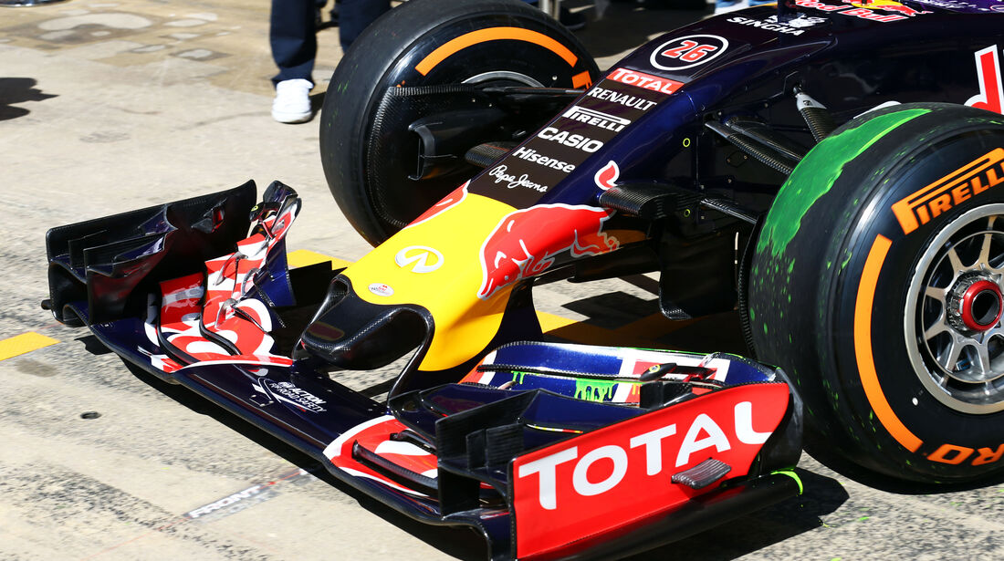 Red Bull - Technik - GP Spanien 2015