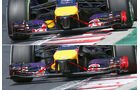 Red Bull - Technik - GP Ungarn/GP Deutschland 2014