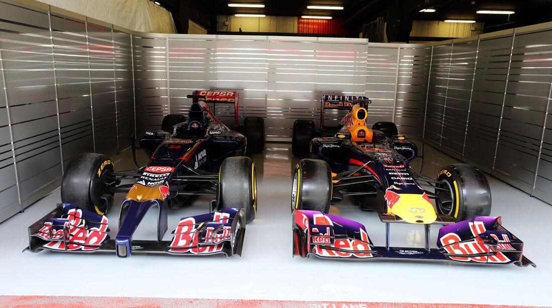 Red Bull & Toro Rosso - Formel 1-Test - Barcelona - 27. Februar 2015