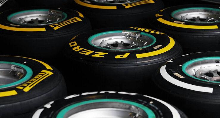 Reifen - Formel 1 - GP Deutschland - 19. Juli 2012