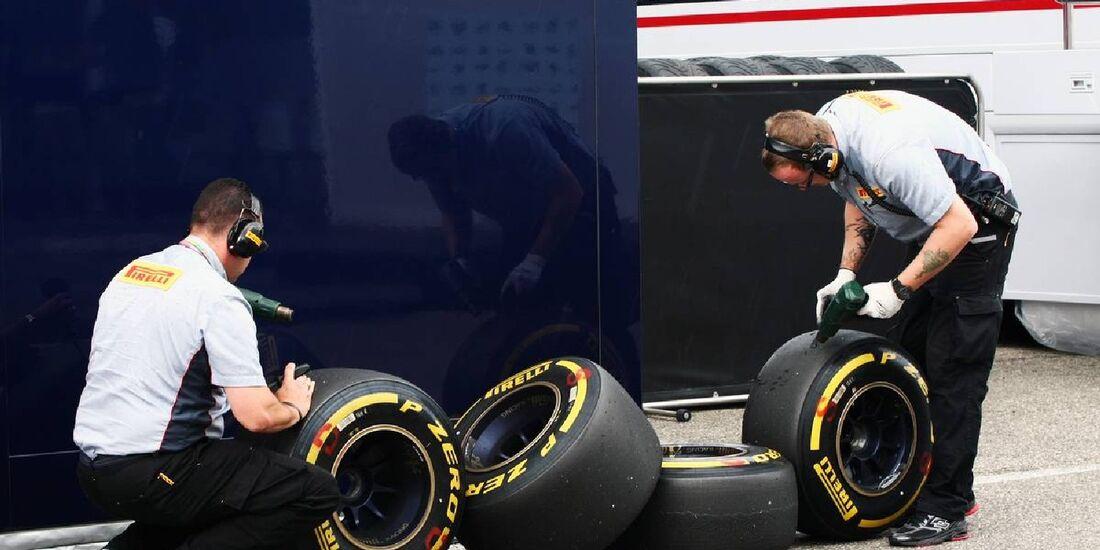 Reifen - Formel 1 - GP Deutschland - 21. Juli 2012