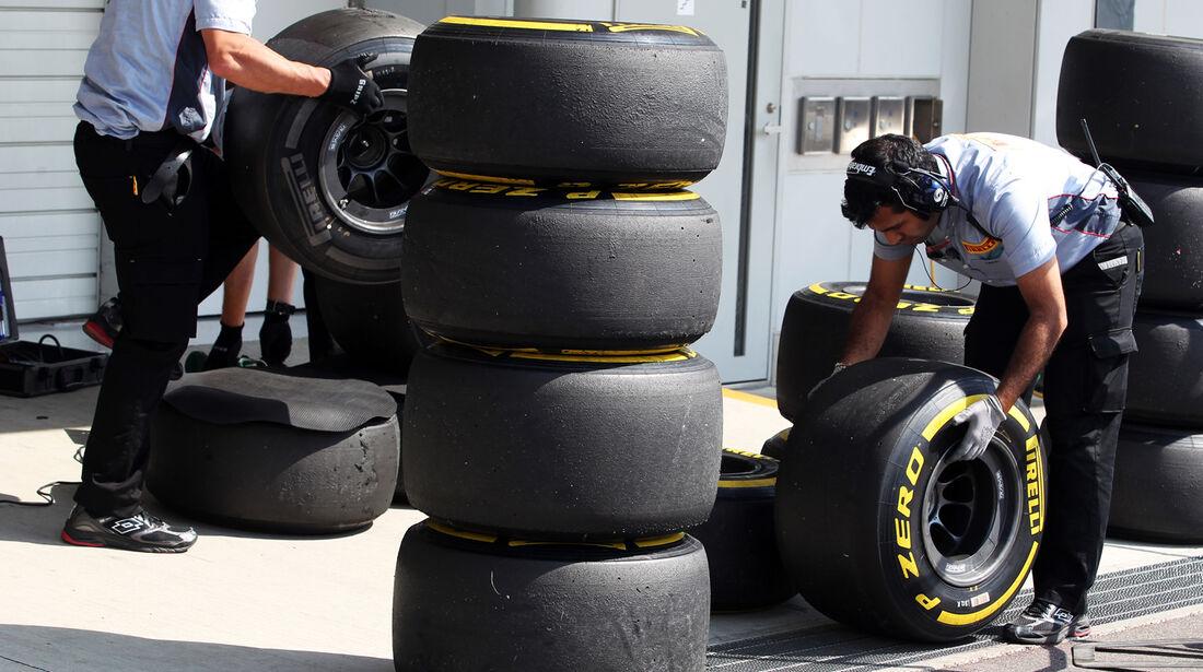 Reifen - Formel 1 - GP Japan - Suzuka - 6. Oktober 2012