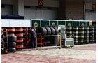 Reifen  - Formel 1 - GP Korea - 15. Oktober 2011