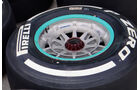 Reifen - Formel 1 - GP Malaysia - 21. März 2013