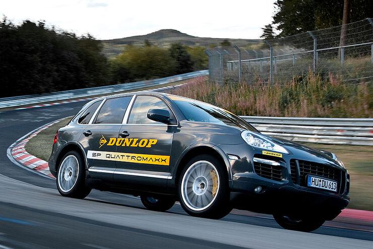 Reifen-Härttetest auf der Nordschleife SUV Dunlop SP Quattromaxx