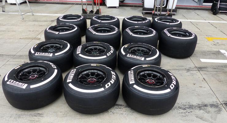 Reifen - Pirelli - GP Italien - Monza - Donnerstag - 3.9.2015