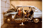 Renault 16, Crashtest, Dummies