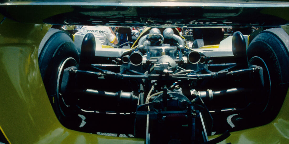 Renault - 1980 - GP Brasilien - F1