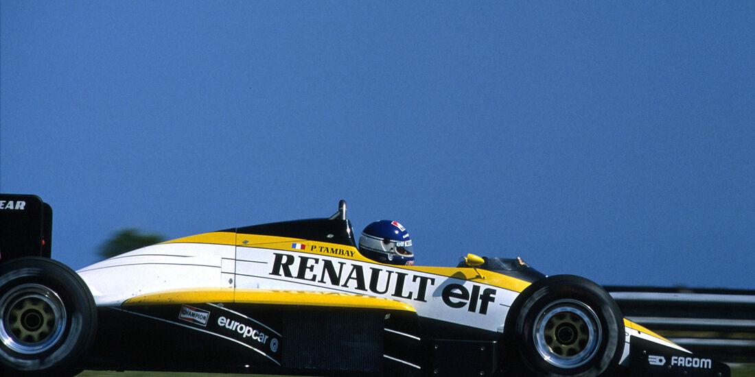Renault - 1985 - GP Brasilien - F1