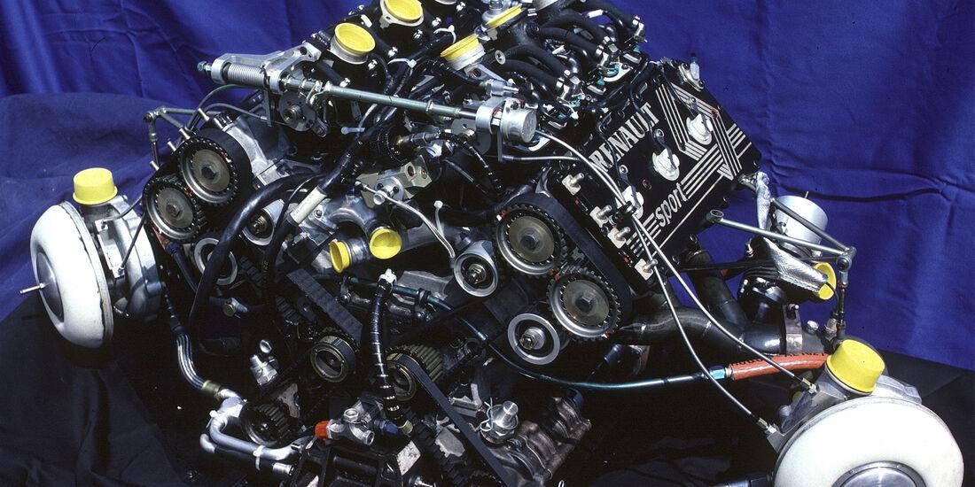 Renault - 1986 - F1-Motor