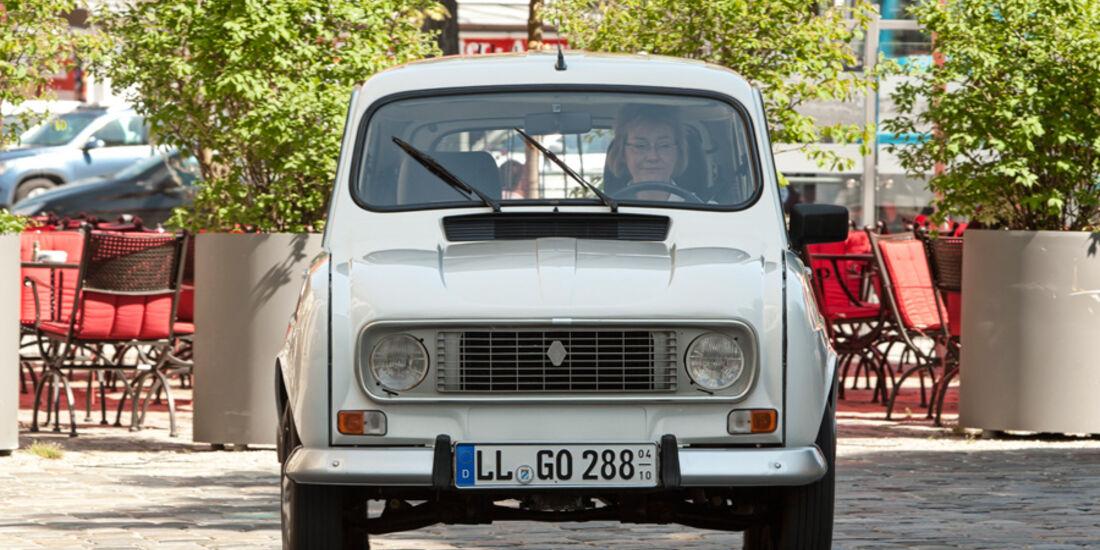 Renault 4, Frontansicht