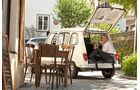 Renault 4, Starnberg, Heckklappe, offen, Hund, Jeannette