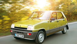 Renault 5 GTL, Frontansicht