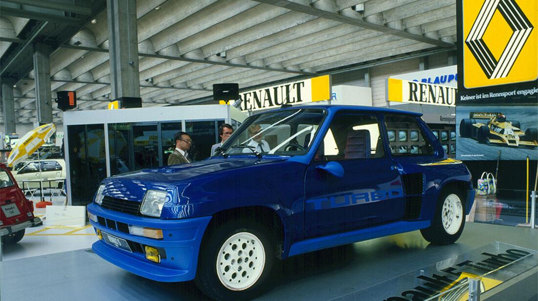 Renault 5 Turbo - Ausstellung auf der IAA 1979