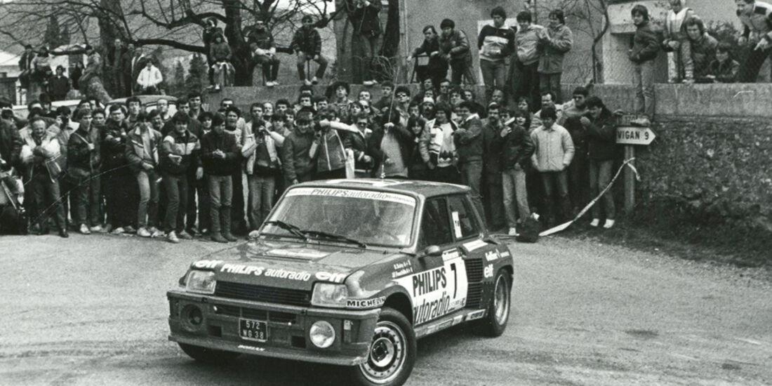 Renault 5 Turbo - Rallyeeinsatz