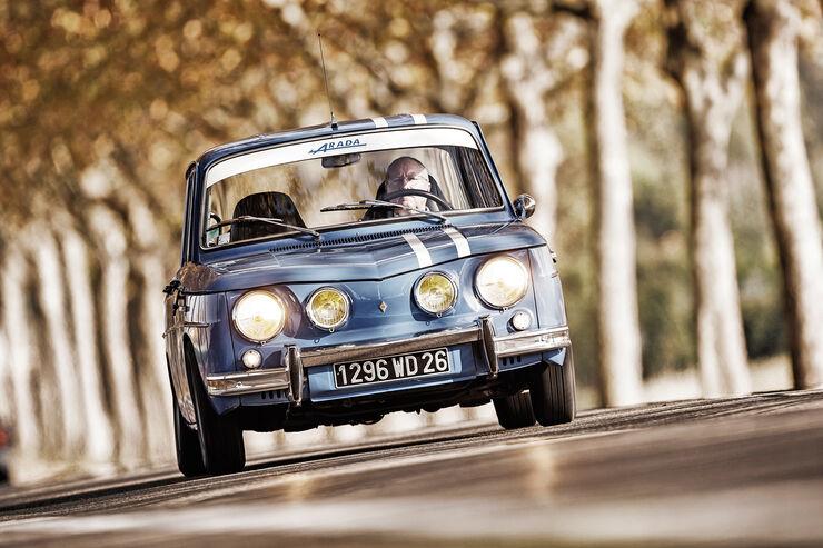 Renault 8 Gordini 1300, Frontansicht