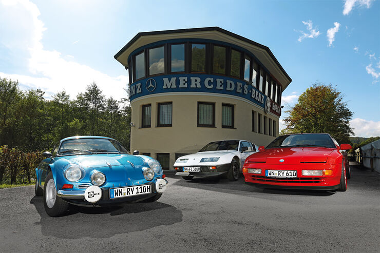3 generationen alpine a110 a310 und a610 alpine stars. Black Bedroom Furniture Sets. Home Design Ideas