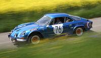 Renault Alpine A110, Seitenansicht