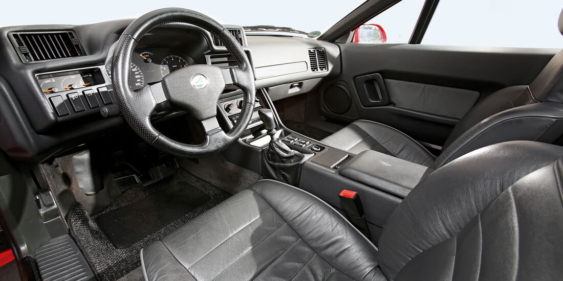Renault Alpine A610 TURBO, Cockpit