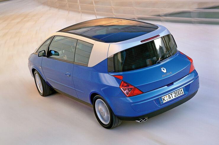Renault Avantime, Heckansicht