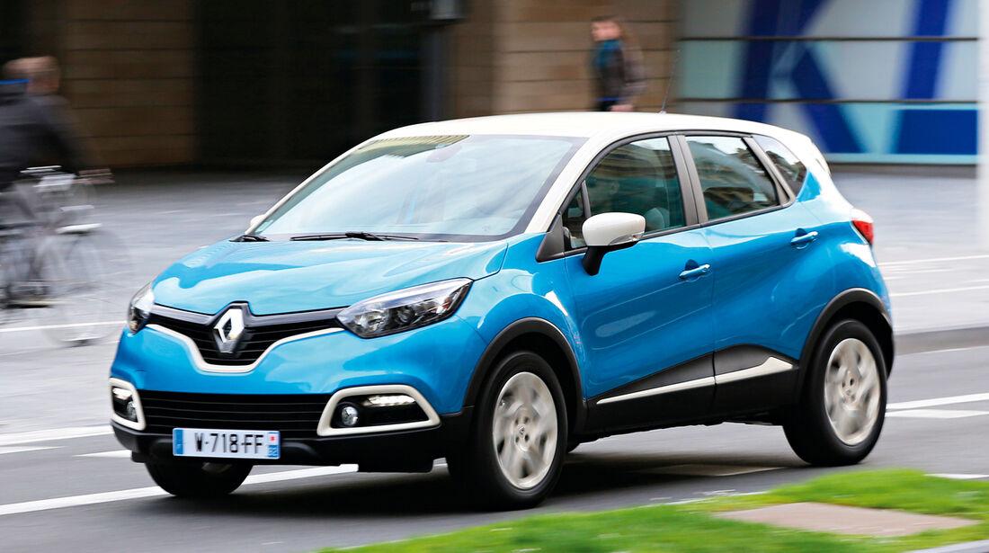 Renault Captur TCe 120, Frontansicht